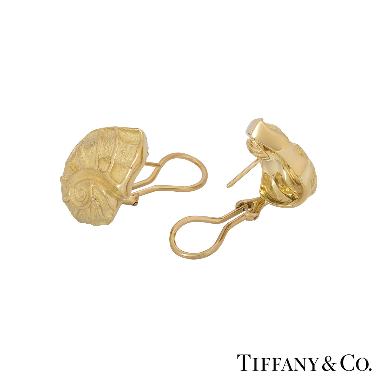 Tiffany & Co. Yellow Gold Earrings